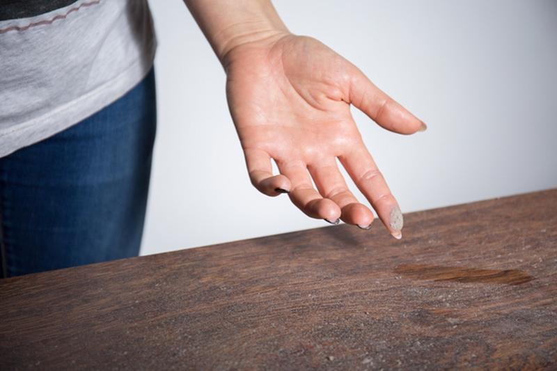 Dust on Furniture